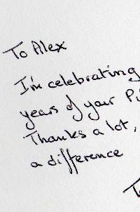 Testimonial for Alex
