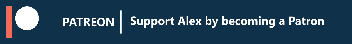 Support Alex on Patreon